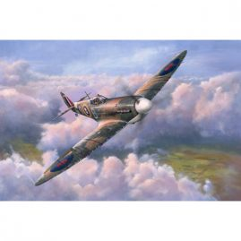 After The Battle, a limited edition artwork by Colin Parker featuring the Supermarine Spitfire aircraft flown during World War II.