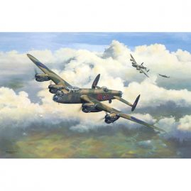 G For George, a limited edition artwork by Colin Parker featuring the Avro Lancaster B1 aircraft.