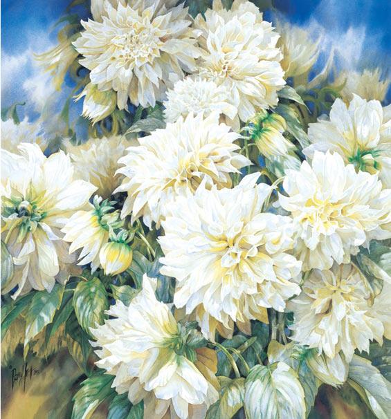 Darryl-Trott-Artwork-Dazzling-Dahlias