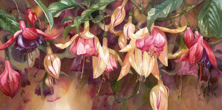 Darryl-Trott-Artwork-Radiant-Fuchsias