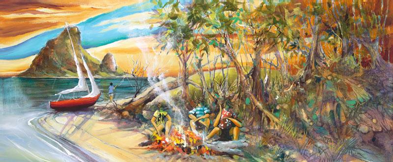 Donald-James-Waters-Artwork-Fishing-Trip
