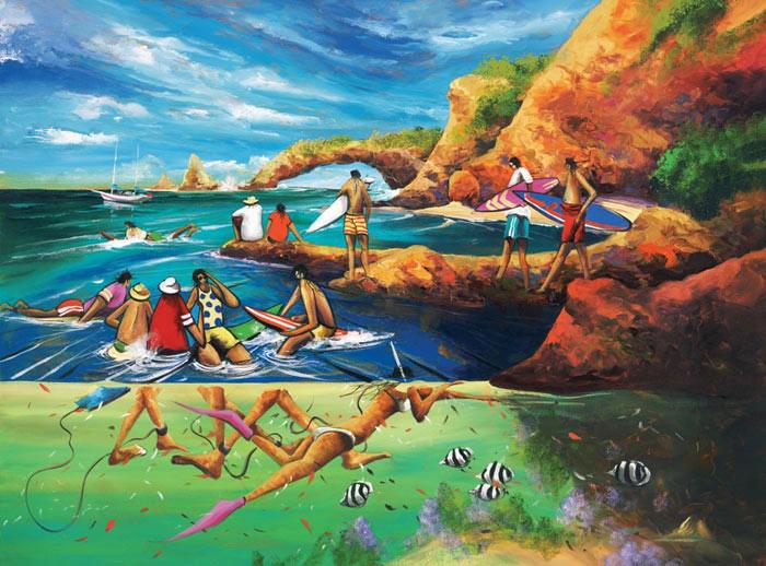 Donald-James-Waters-Artwork-Flat-As-A-Tack