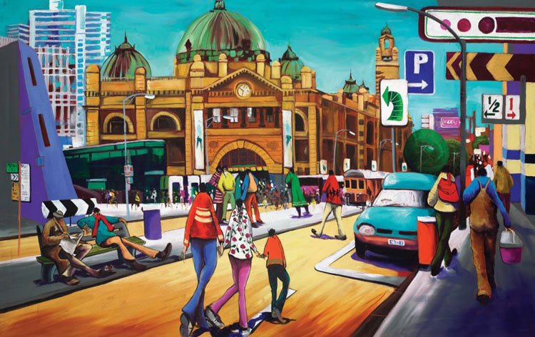 Donald-James-Waters-Artwork-Flinders-Street-Hub