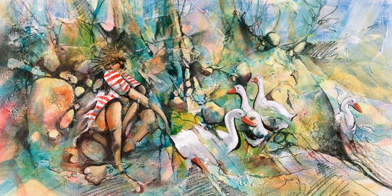 Donald-James-Waters-Artwork-Goose-Bumps