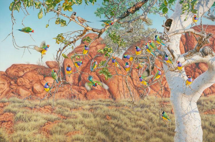 Greg Postle Artwork Family Tree
