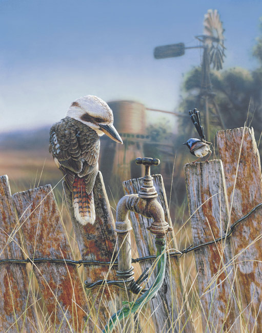Greg Postle Artwork Fence Sitters