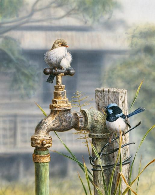 Greg Postle Artwork Water Restrictions